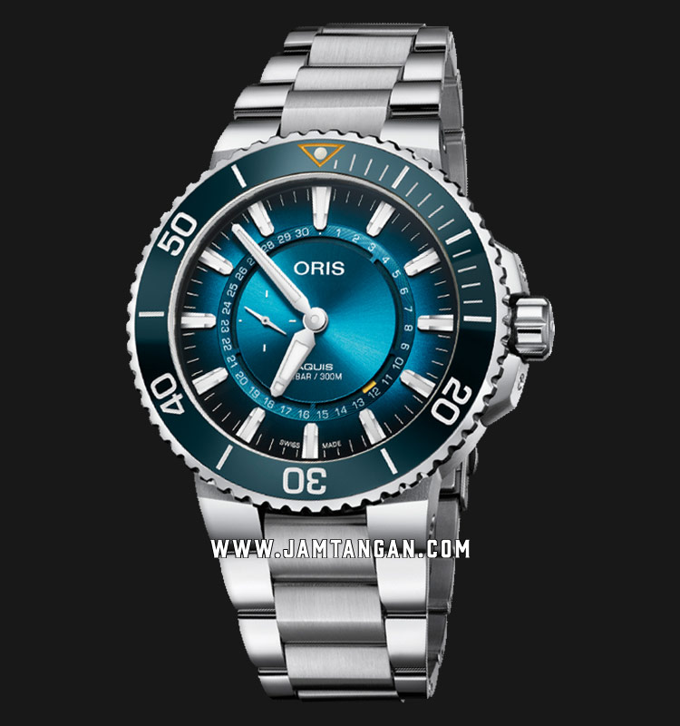 Oris Great Barrier Reef Limited Edition III 743 7734 4185 SET Baselworld 2019 Stainless Steel Strap Machtwatch