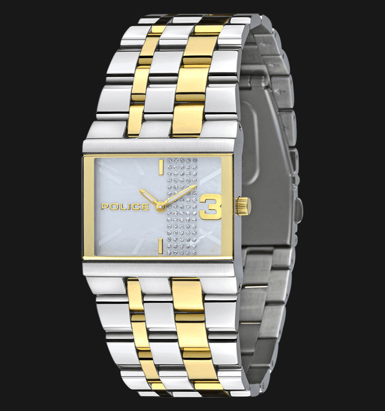 Police PL.10501BST/28MA Mother Of Pearl Dial Two-Tone Stainless Steel Machtwatch