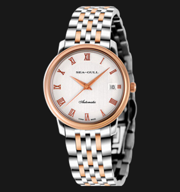Seagull 216.367 - Automatic Mechanical 24 Jewels Stainless Steel Machtwatch