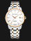 Seagull 217.421-WH Classic Automatic Mechanical White Dial Dual Tone Stainless Steel Strap Thumbnail