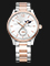 Seagull 217.423 Classic Automatic Mechanical Moonphase Silver Dial Dual Tone Stainless Steel Strap Thumbnail
