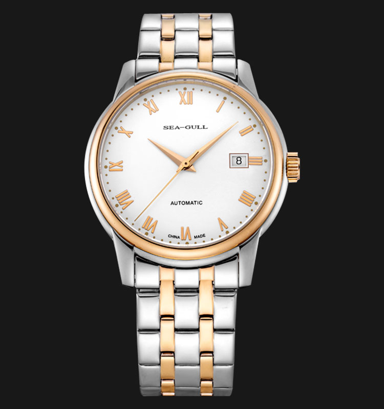 Seagull 217.614BR - Automatic Mechanical Stainless Steel Machtwatch