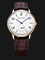 Seagull 219.612-WH - Mechanical White Dial Brown Leather Strap Thumbnail