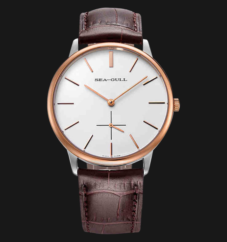 Seagull 219.612T - Mechanical Brown Leather Machtwatch