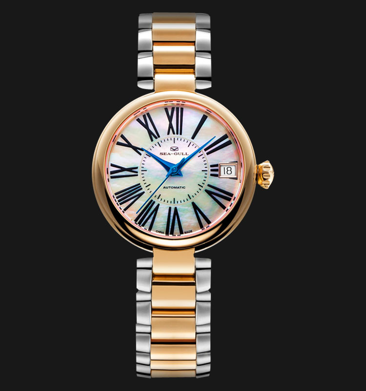 Seagull 517.756L - Automatic Mechanical Rose Gold Stainless Steel Machtwatch