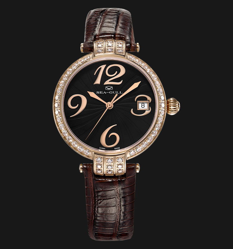 Seagull 719.753LBR - Automatic Mechanical Brown Leather Machtwatch