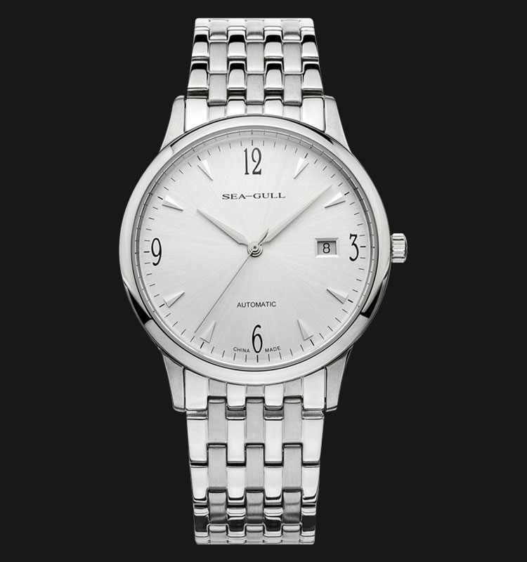 Seagull 816.357 - Automatic Mechanical 24 Jewels Stainless Steel Machtwatch