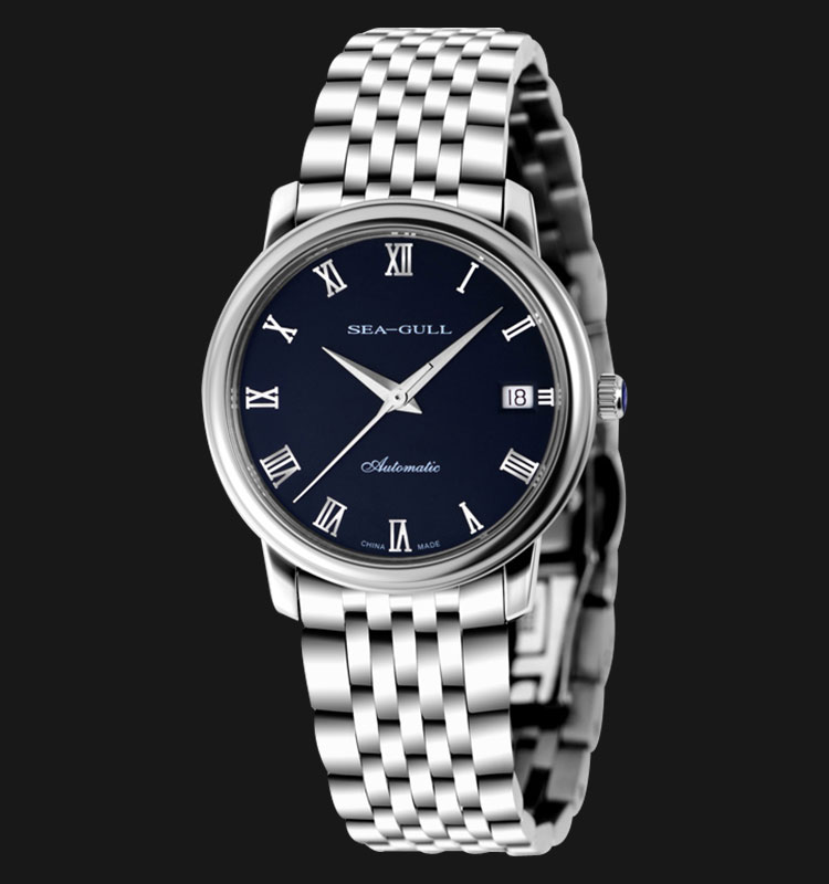 Seagull 816.367 - Automatic Mechanical 24 Jewels Stainless Steel Machtwatch