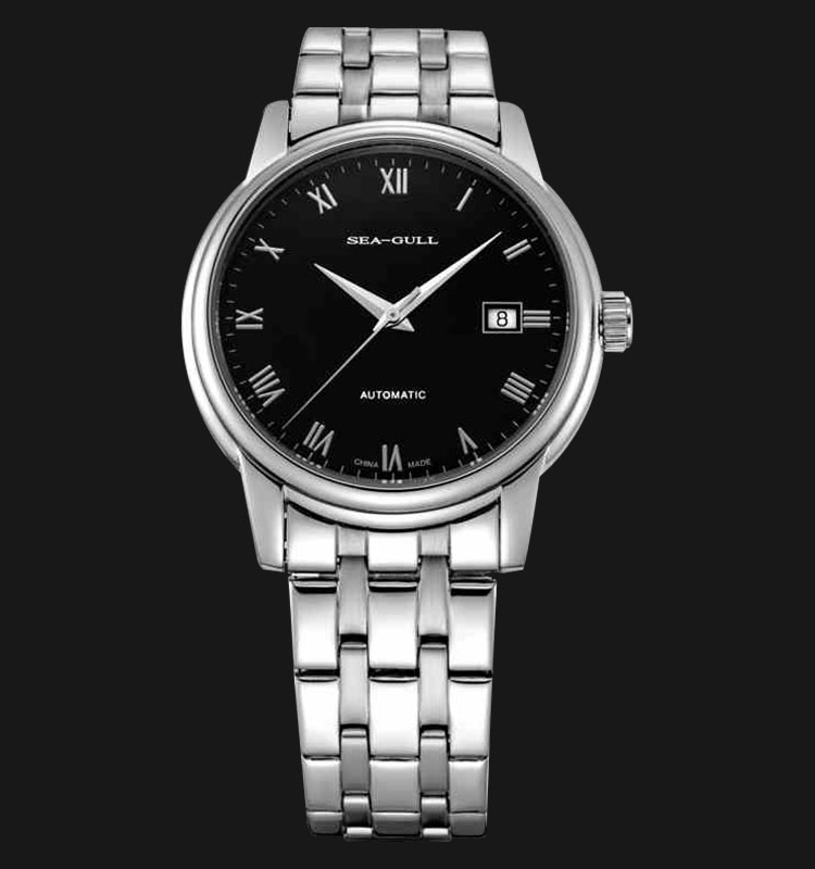 Seagull 816.614HR - Automatic Mechanical Stainless Steel Machtwatch