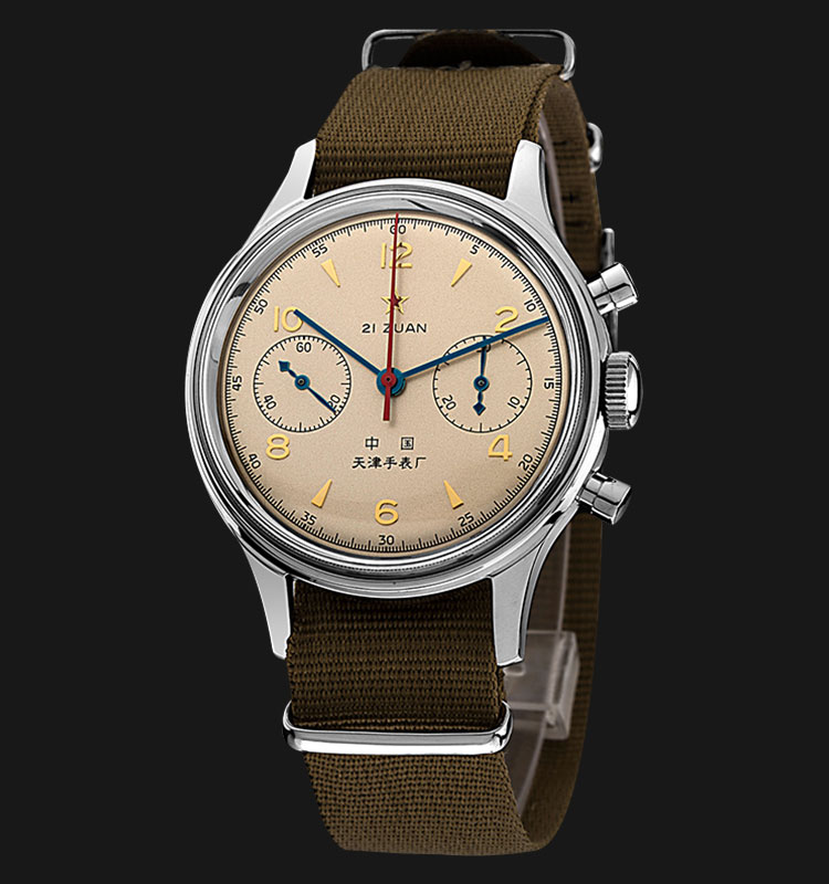 Seagull FKJB - Manual Mechanical Aviation Chronograph Special Edition Machtwatch