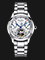 Seagull M162S Flywheel Automatic Mechanical Silver Dial Stainless Steel Strap Thumbnail