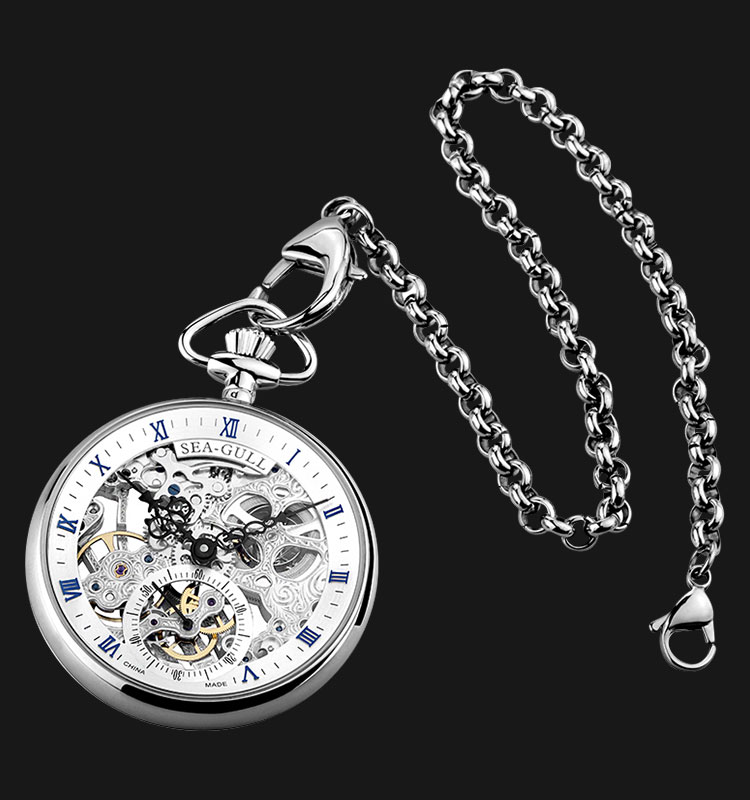 Seagull M3600SK - Pocket Watch High End Manual Mechanical Machtwatch