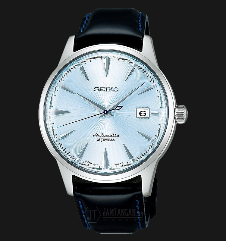 Seiko Automatic SARB065J1 Cocktail Time Hardlex Crystal Calfskin Leather (JDM) Machtwatch