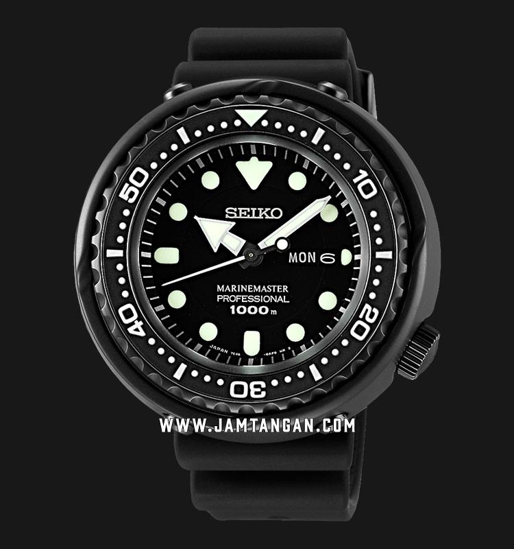 Seiko Prospex SBBN025 Darth Tuna Marinemaster Professional 1000M Divers Quartz Machtwatch