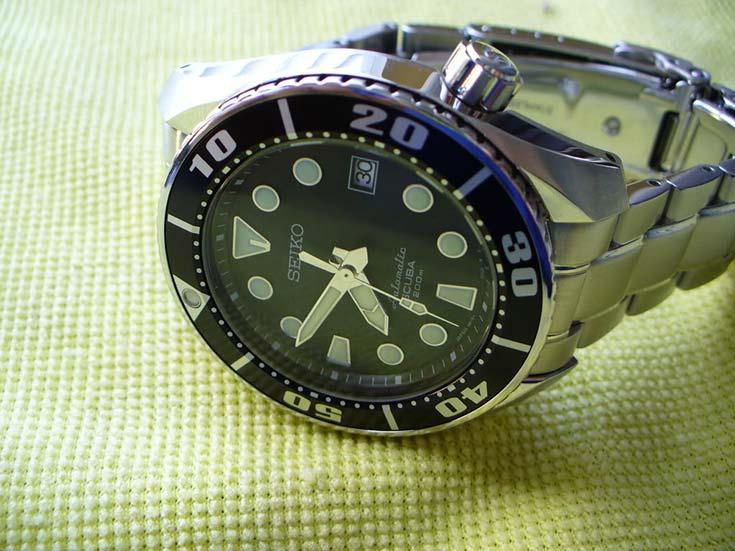 Seiko Prospex SBDC001 Sumo Automatic Scuba 200M Machtwatch