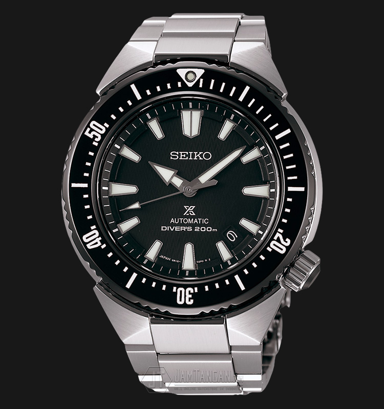 Seiko Diver SBDC039J1 Transocean Automatic Black Dial Stainless Steel (JDM) Machtwatch