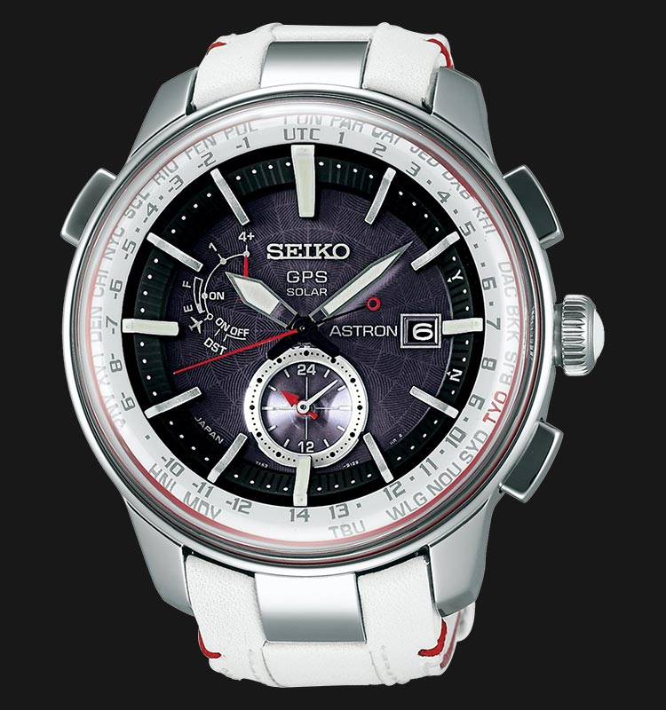 Seiko Astron SBXA045J Limited Edition GPS Solar World Time 7X Machtwatch