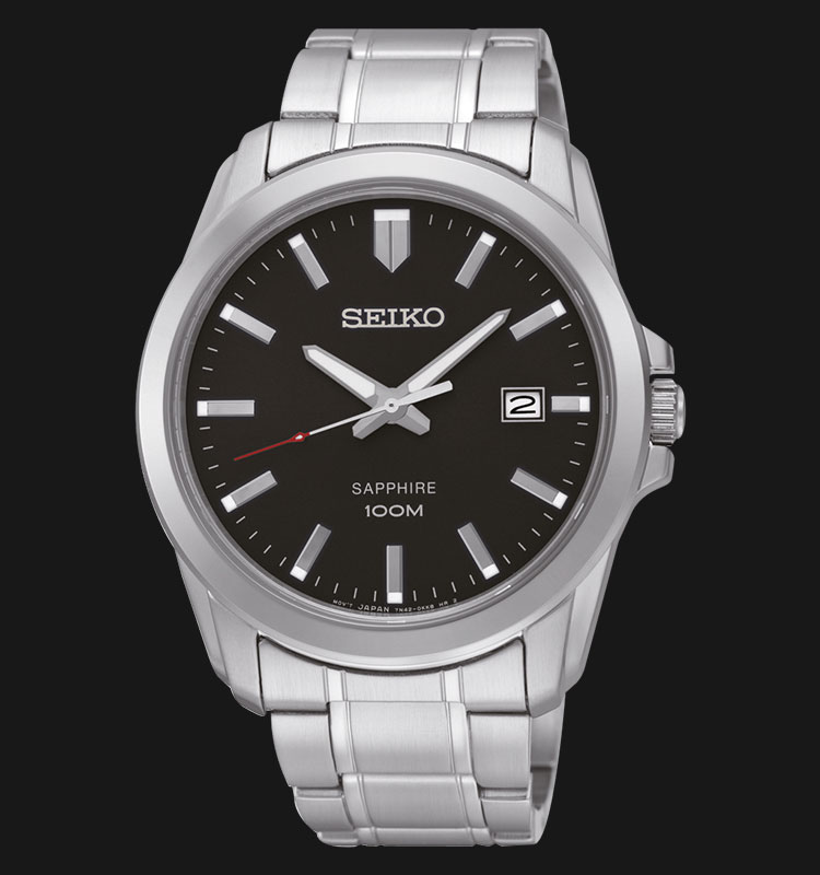 Seiko Classic SGEH49P1 Sapphire Crystal Stainless Steel Bracelet Machtwatch