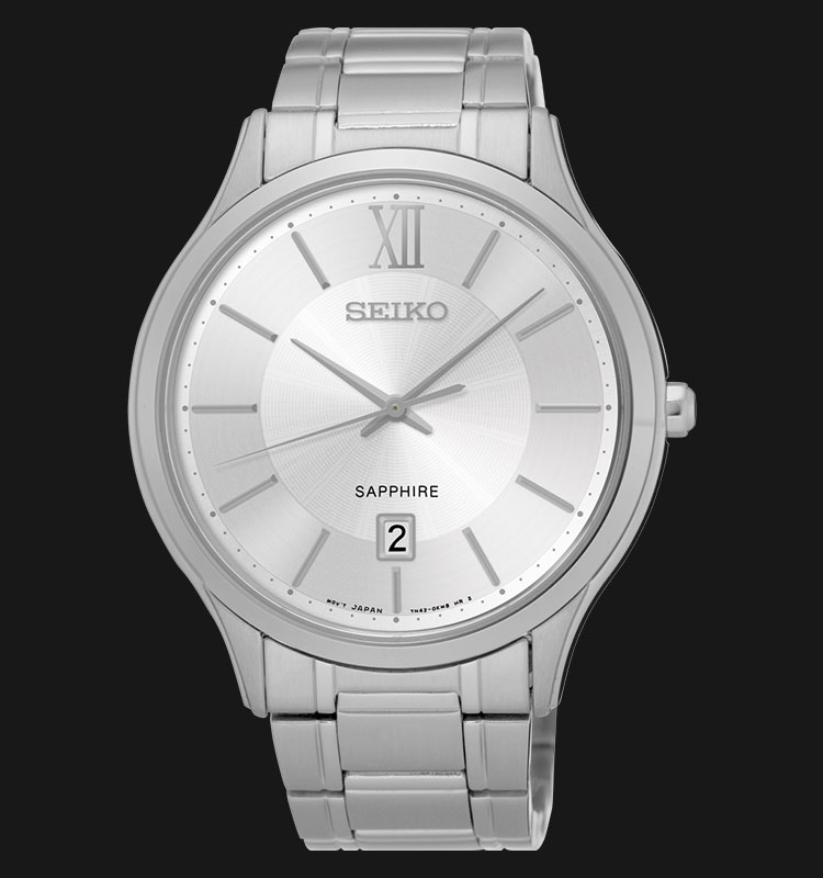 Seiko Classic SGEH51P1 Sapphire Crystal Stainless Steel Bracelet Machtwatch