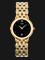 Seiko SGK392J Ladies Black Dial Gold Stainless Steel Strap Thumbnail
