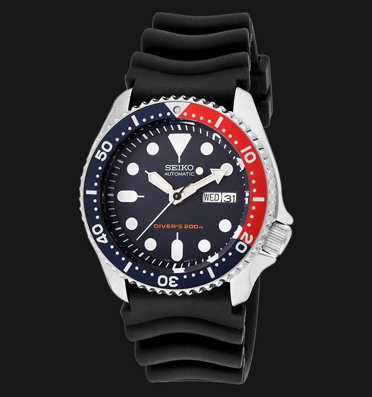 Seiko SKX009K1 Automatic 21 Jewels Blue Dial Divers 200M Machtwatch