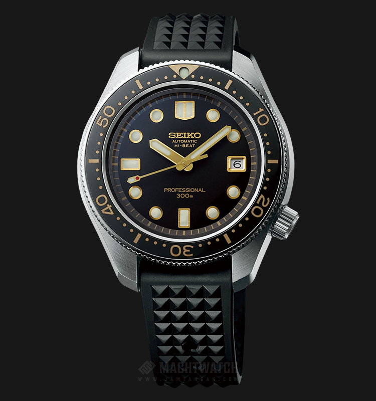 Seiko Prospex Sea Baselworld 2018 SLA025J1 Limited Edition Black Dial Black Rubber Strap Machtwatch