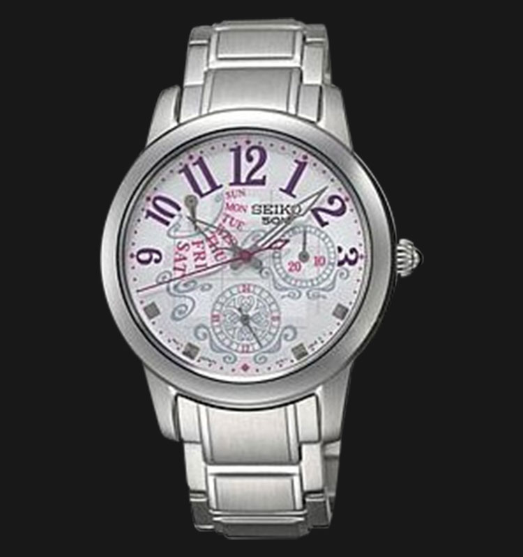 Seiko Ladies SPA769 Silver Dial Stainless Steel Bracelet Machtwatch
