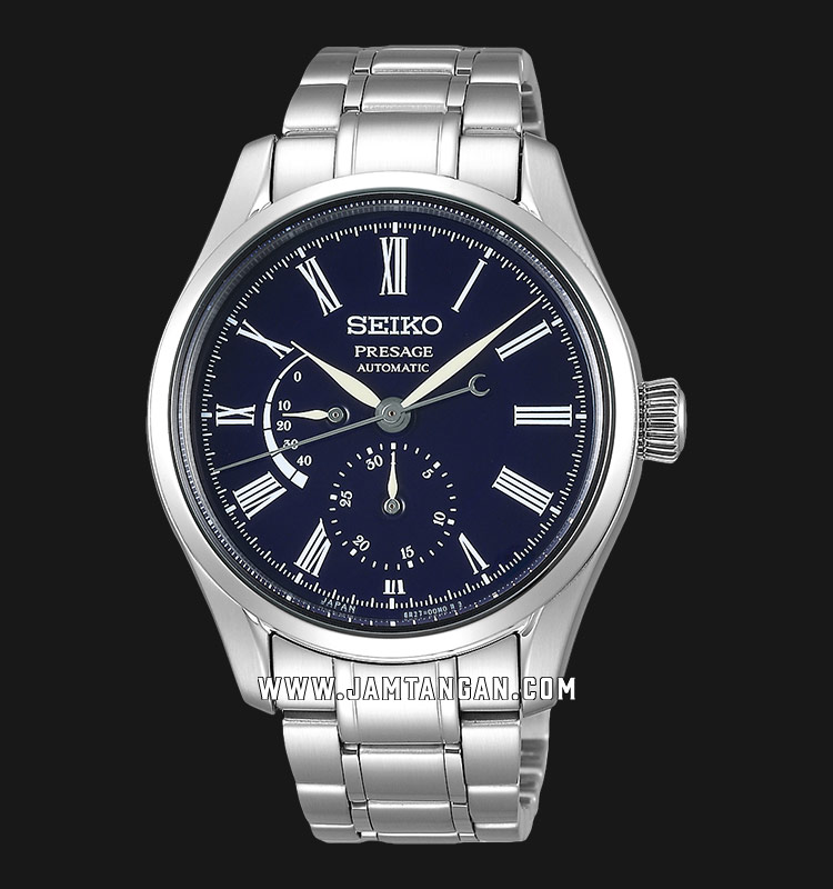 Seiko Presage SPB091J1 Automatic Men Blue Dial Stainless Steel Strap Machtwatch