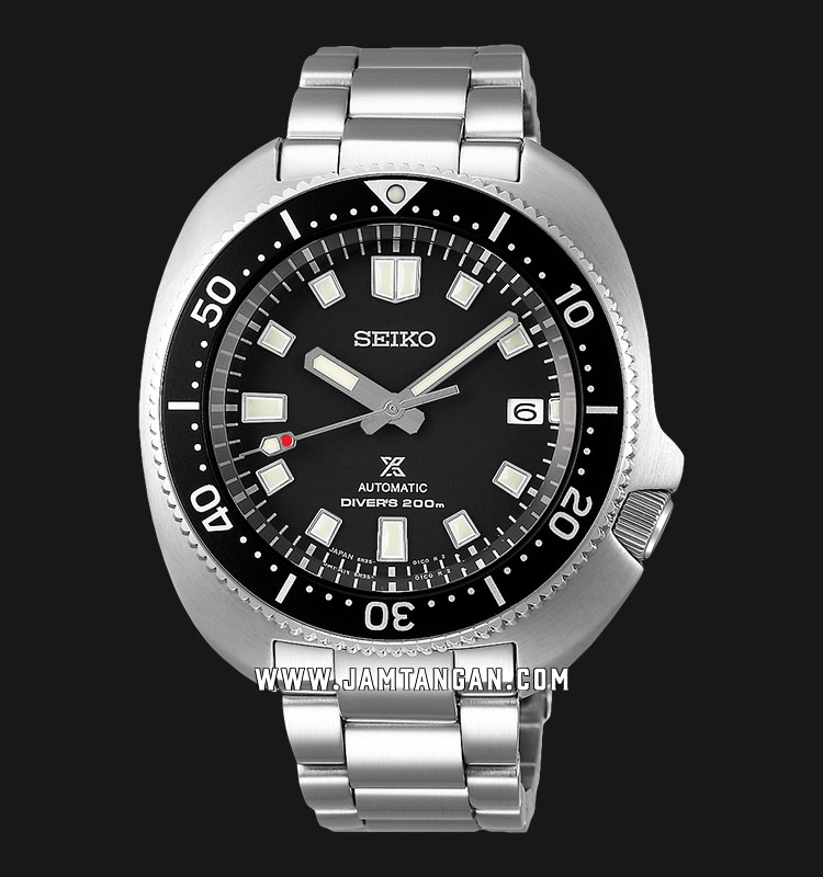 Seiko Prospex SPB151J1 Turtle Diver Automatic Black Dial Stainless Steel Strap Machtwatch