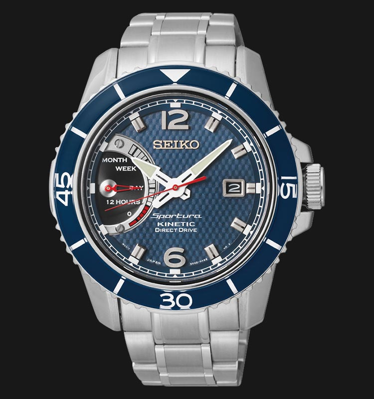 Seiko Sportura Kinetic Direct Drive SRG017P1 Machtwatch