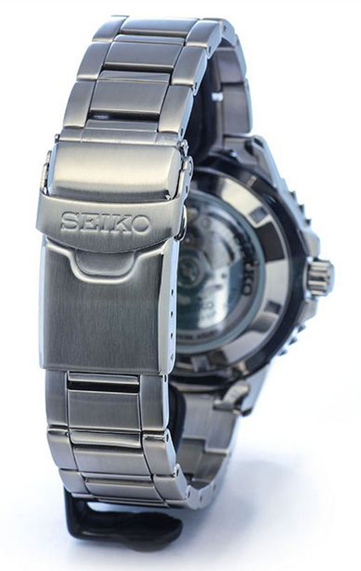 Seiko 5 Sports SRP353K1 Automatic Black Dial Stainless Steel Machtwatch