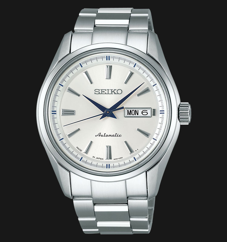 Seiko Presage SRP527J1 Men Automatic Sapphire Crystal Stainless Steel Machtwatch