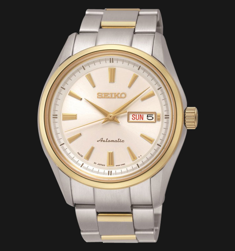 Seiko Presage SRP532J1 Men Automatic Sapphire Crystal Stainless Steel Machtwatch