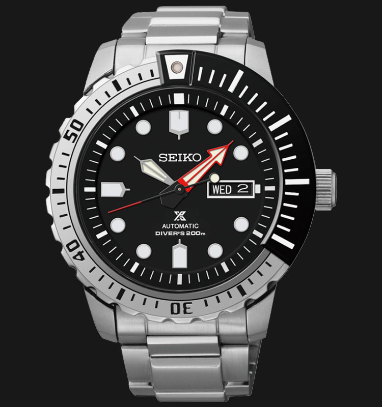 Seiko Prospex SRP587K1 Automatic Divers 200M Stainless Steel Machtwatch