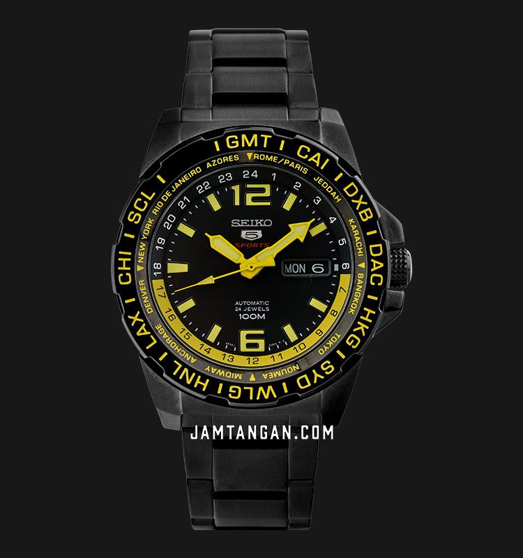 Seiko 5 Sports SRP689K1 Automatic 24 Jewels 100M Machtwatch