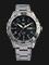 Seiko 5 Sports SRP755K1 Black Dial Stainless Steel Bracelet Thumbnail