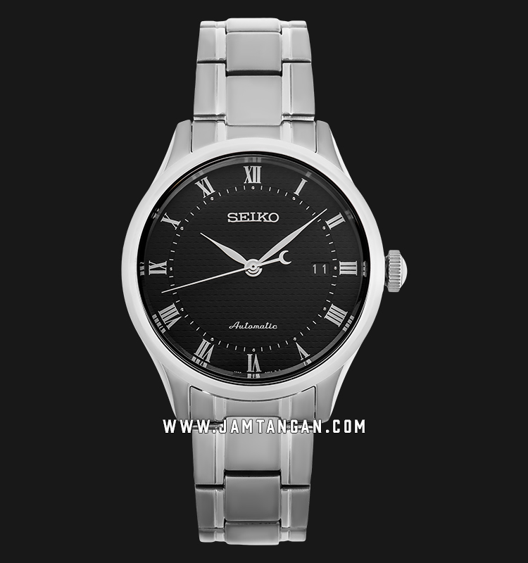 Seiko SRP769K1 Automatic Men Black Dial Stainless Steel Strap Machtwatch