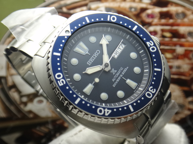 Seiko Prospex SRP773K1 Turtle Edition Automatic Divers 200M Stainless Steel Machtwatch
