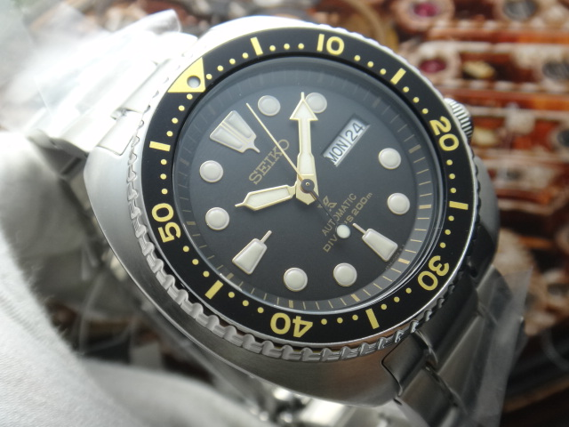 Seiko Prospex SRP775K1 Turtle Edition Automatic Divers 200M Stainless Steel Machtwatch