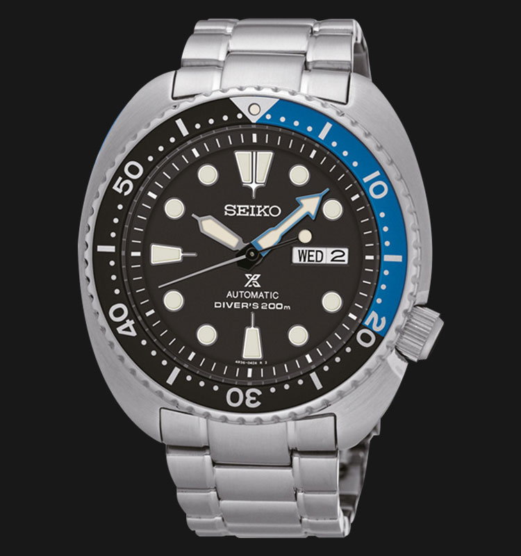 Seiko Prospex SRP787K1 Turtle Edition Automatic Black Dial Stainless Steel Strap Machtwatch