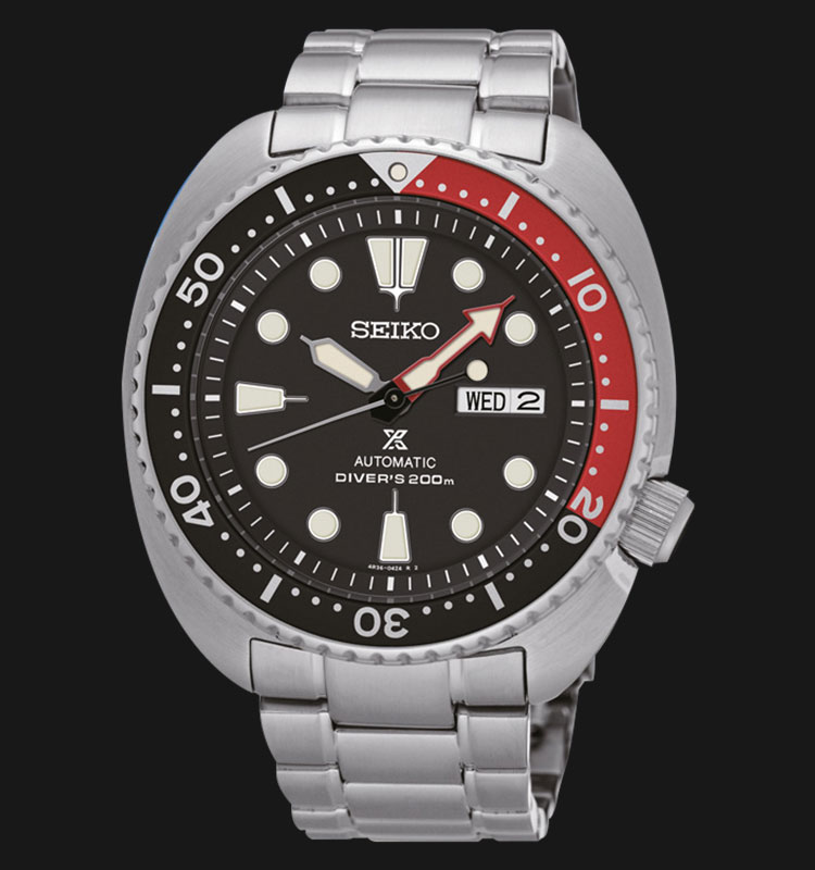 Seiko Prospex SRP789K1 Turtle Edition Automatic Divers 200M Stainless Steel Machtwatch