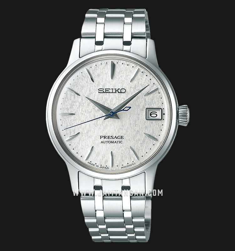Seiko Presage SRP843J1 Cocktail Fuyugeshiki Automatic Silver Dial Stainless Steel LIMITED EDITION Machtwatch