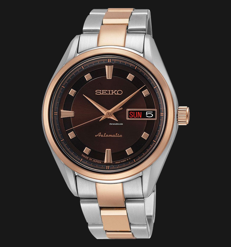 Seiko Presage SRP890J1 Ladies Automatic Sapphire Crystal Stainless Steel Machtwatch