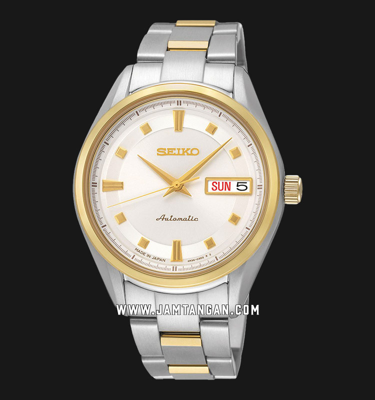 Seiko Presage SRP894J1 Ladies Automatic Sapphire Crystal Stainless Steel Machtwatch