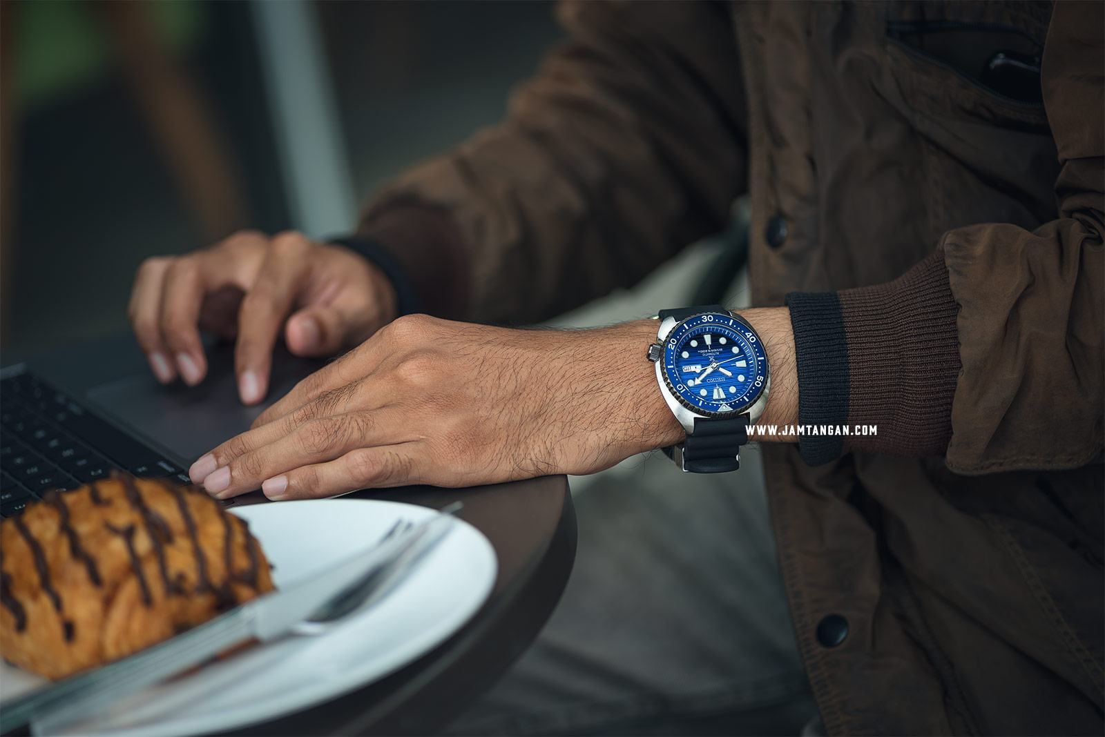 Seiko Prospex Turtle Save The Ocean SRPC91K1 Auto Divers 200M Black Rubber Strap SPECIAL EDITION Machtwatch