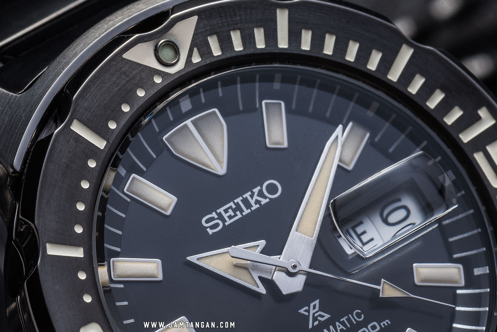 Seiko Prospex SRPD29K1 Monsters Automatic 200M Black Stainless Steel [EXCLUSIVE AT JAMTANGAN.COM] Machtwatch