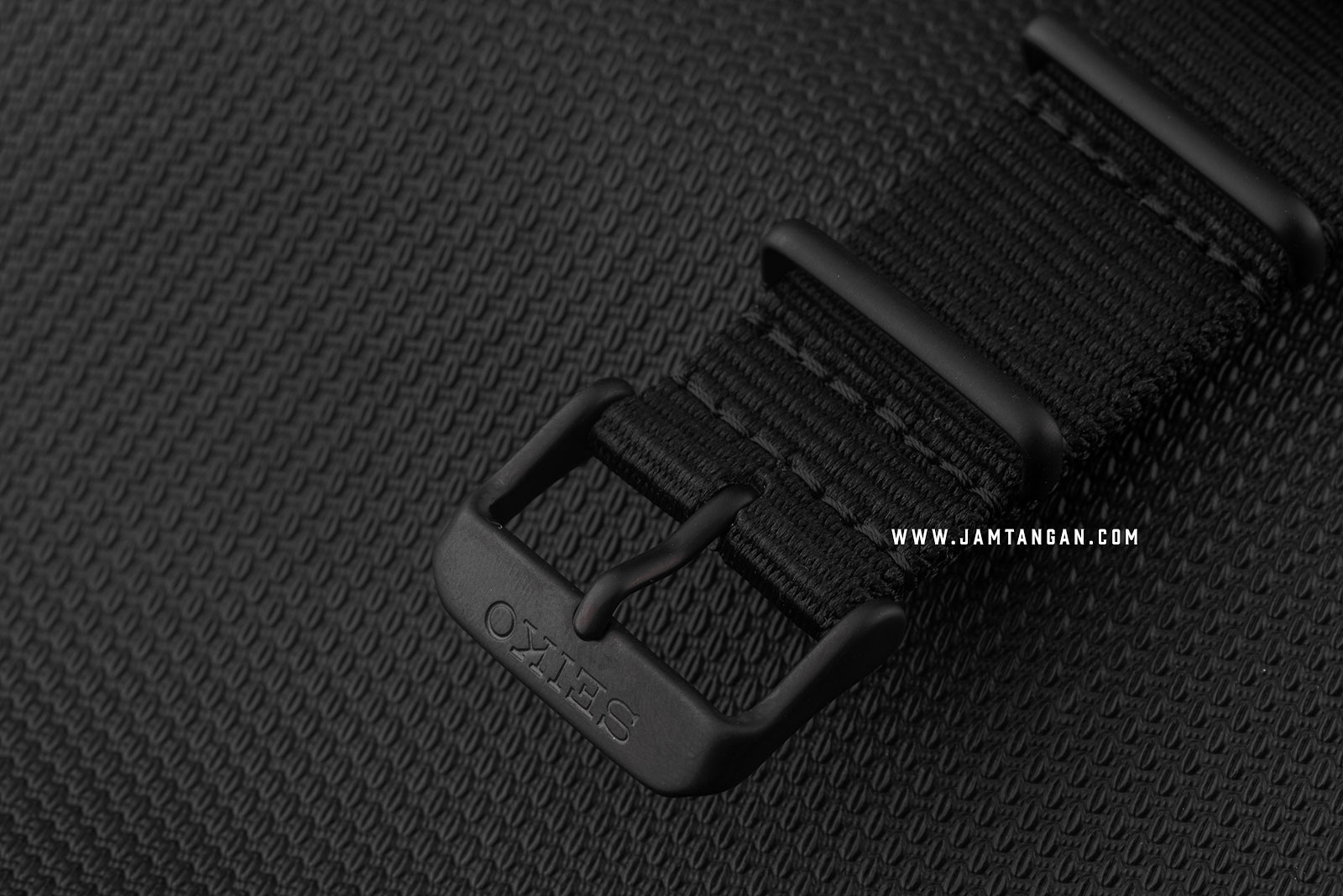 Seiko 5 Sports SRPD79K1 Automatic Black Dial Black Nylon Strap Machtwatch