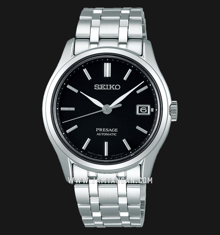Seiko Presage SRPD99J1 Automatic Black Dial Stainless Steel Strap Machtwatch