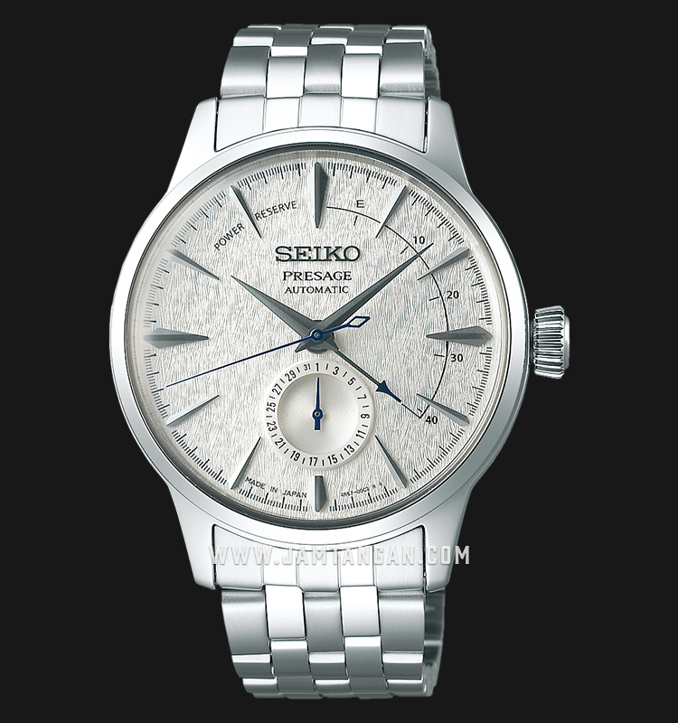 Seiko Presage SSA385J1 Cocktail Fuyugeshiki Automatic Silver Dial Stainless Steel LIMITED EDITION Machtwatch