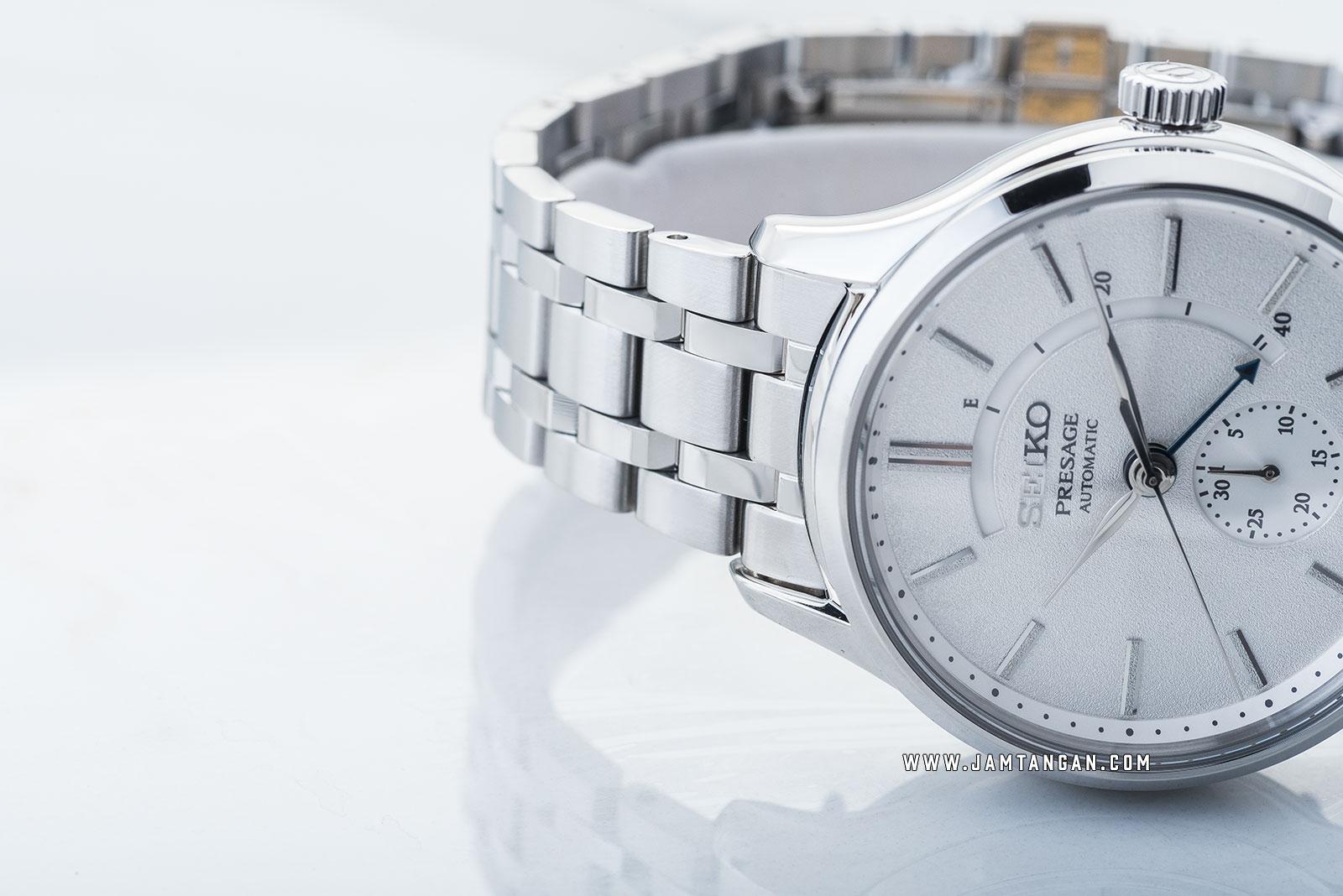 Seiko Presage SSA395J1 Zen Garden Automatic White Dial Stainless Steel Strap Machtwatch